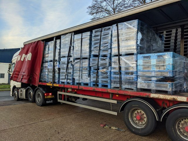 Recycled pallets truck for Vuelio.jpg