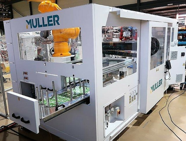 Muller launches IML automation system for five-gallon pails