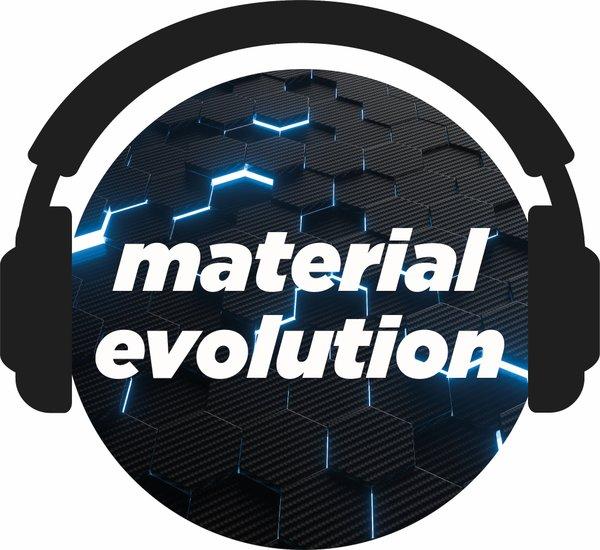 Material Evolution Podcast Logo - Carbon 2
