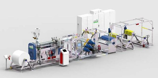MEAF ads PROMIX physical foaming to in-house extruder test line