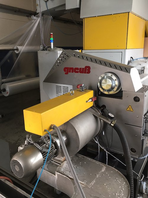 Gneuss' rotary filter makes in-house PE recycling a reality