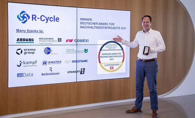 R-Cycle awarded German Sustainability Award 2021