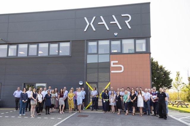 Xaar-HQ Opening Group shot resized.jpg