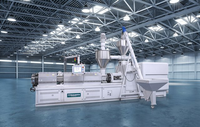 Bausano twin extruders help create a sustainable PVC supply chain