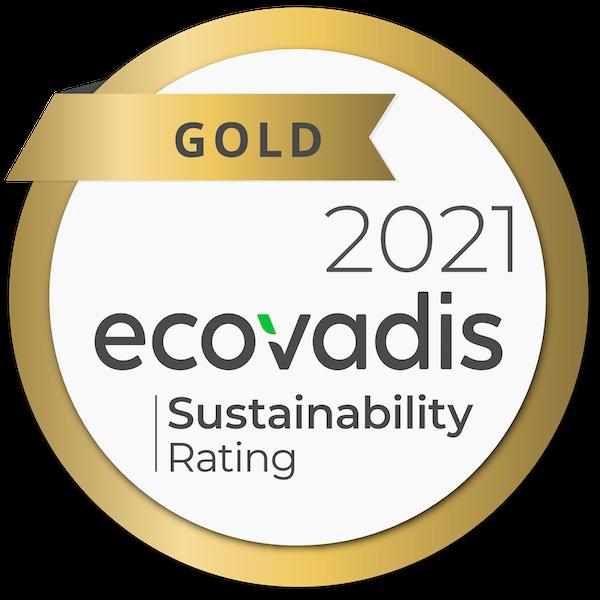 Nouryon awarded 2021 EcoVadis Gold rating