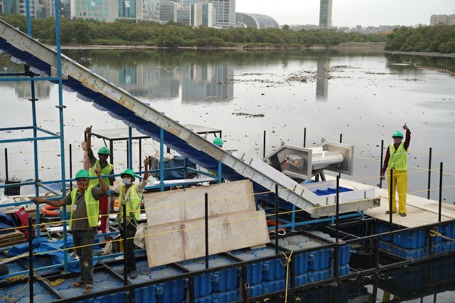 Finland partnership launches river waste collection technology