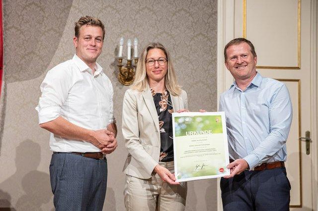 ENGEL receives Upper Austria Environmental Award