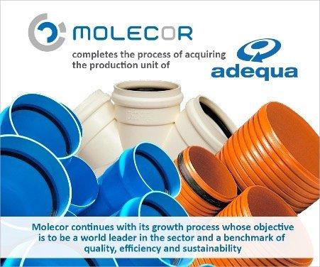 Molecor acquires Adequa productive unit