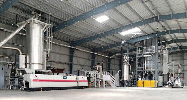 Starlinger installs first food-grade plastics recycling facility at Srichakra Polyplast, India