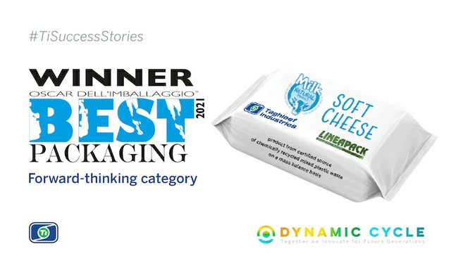 Lineapack and Taghleef Industries collaboration wins Best Packaging 2021 Award