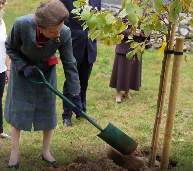 HRH Princess Royal - Alder Tree Planting - Vision Engineering.jpg