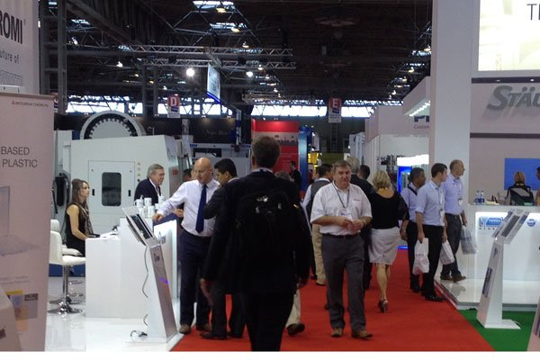 interplas show floor