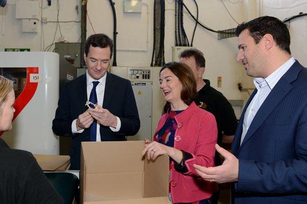 Chancellor Osborne at LVS
