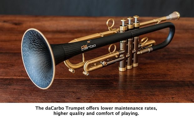 Araldite resins sound success for first composite trumpet - British