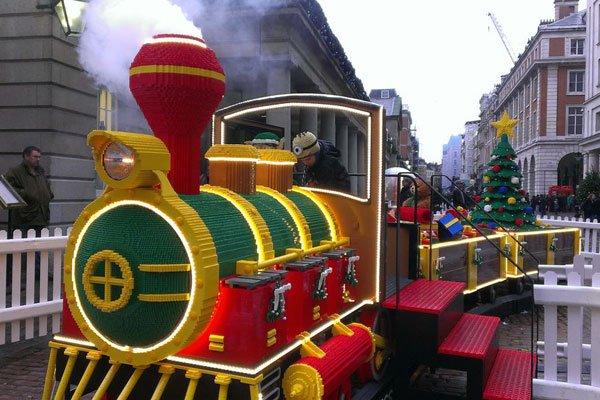 Plastics Lego Train Steams Into London In Time For