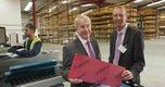Perspex Distribution Leeds -(l-r) Keith Piggott -MD Perspex Distribution, Phil Bailey -Vice President EMEA Lucite International .jpg