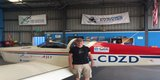 Jeremy Rowsell with Vans RV9A