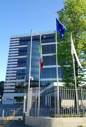 European Food Safety Authority HQ in Parma, Italy