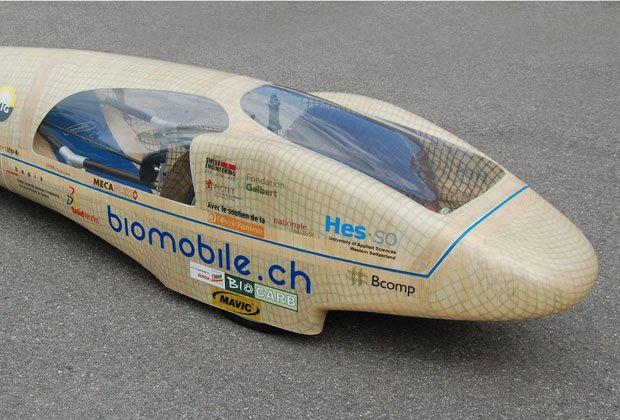 Huntsman Advanced Materials' bio-sourced composites are used in the BioMobile (pictured)