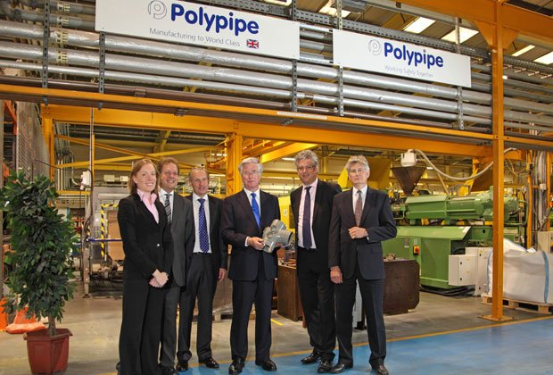 Polypipe played host to the Rt. Hon Michael Fallon