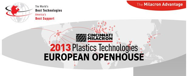 Cincinnati Milacron will host a European Open House event