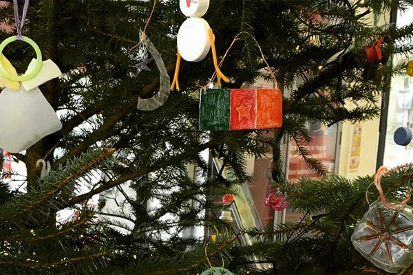 Bangor University's Christmas Tree