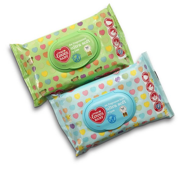 Tesco baby wipes