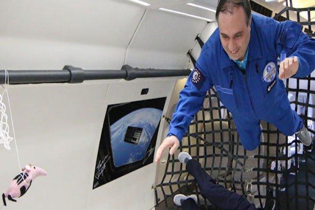 Zero gravity graphene