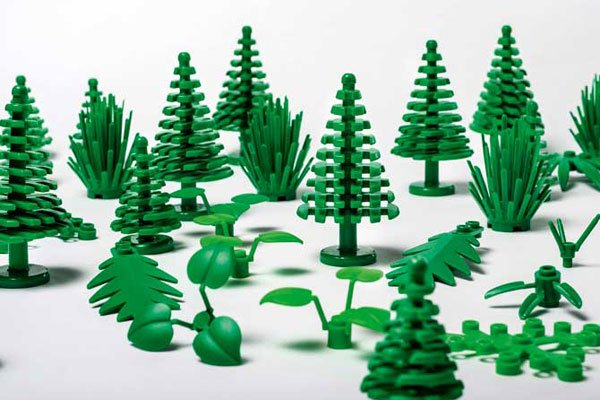 Lego will start making its first sustainable pieces, replacing plastic