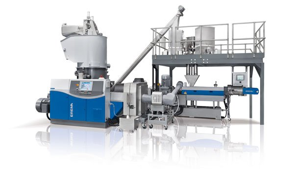 Erema develops technology for recycling and compounding in a single step