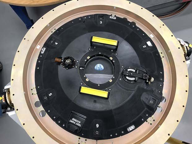Orion docking hatch cover - 3D printed