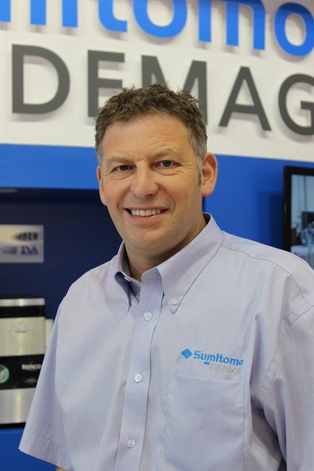 Nigel Flowers, UK managing director at Sumitomo (SHI) Demag.jpg