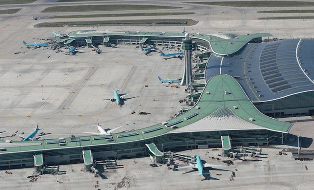 BASF's plastic additives package, comprising a light stabilizer from the Tinuvin® range and an antioxidant from the Irgastab® range, helps to protect the roof at Incheon Airport's Terminal 2 from wear and resulting from extreme heat and light expo...