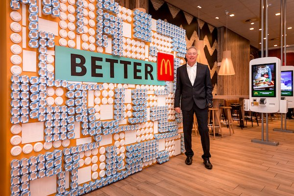 McDonald's Vice President of Sustainability Keith Kenny at Better M restaurant showcase 13 11 19.jpg
