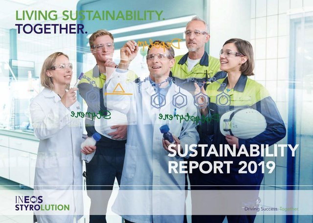 INEOS STYROLUTION PUBLISHES 2019 SUSTAINABILITY REPORT